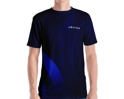 "Horizen ""Limitless"" Men's Crew Neck T-shirt"
