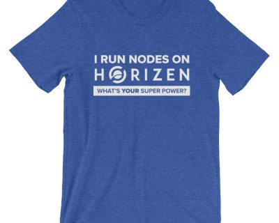 Horizen Nodes Short-Sleeve Unisex T-Shirt – 11 colors